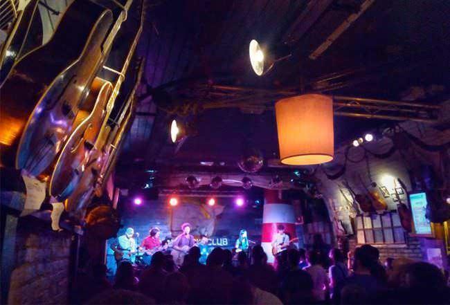 En Moby Dick Club podremos disfrutar de sesiones y de conciertos