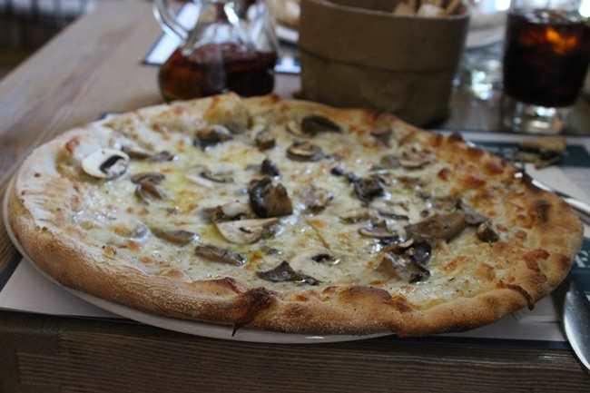 pizza bosque