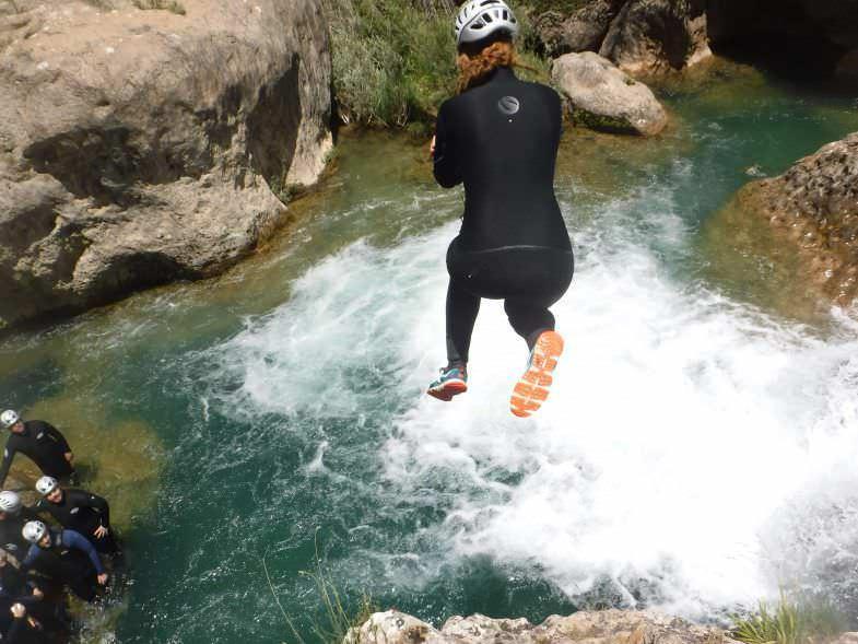 Salto Barranco Río Júcar