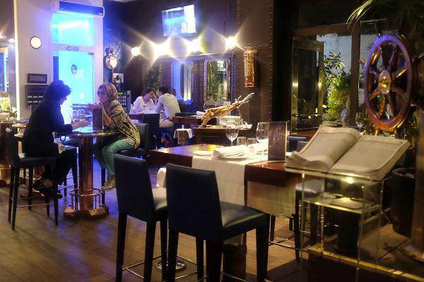 Interior del Restaurante El Telégrafo
