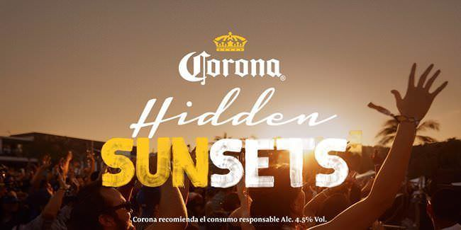 El festival Corona Hidden Sunsets se celebra el próximo 8 de octubre