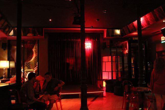 Interior de Volta Café