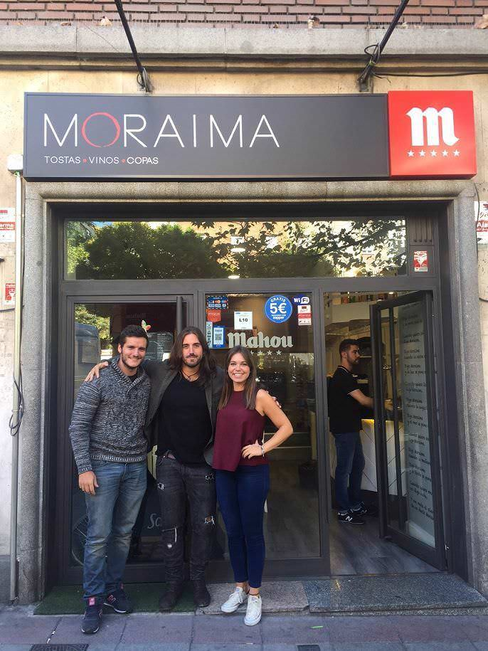 Andrés suarez Moraima Bar