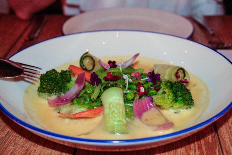 Propuesta sana de verduras al dente en Nitty Gritty