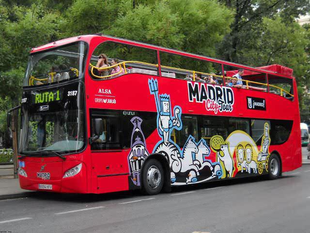 El autobús más alto de la ciudad es el Madrid City Bus. Foto: hosteltur.com