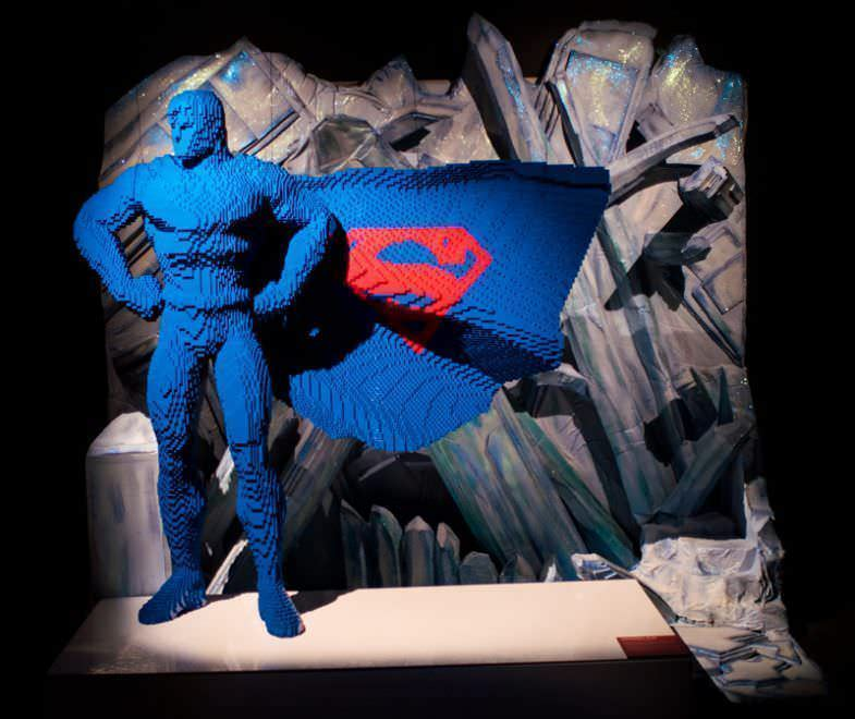 Superman @The Art os the Bricks