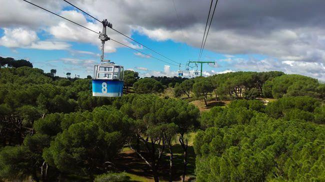El Teleférico surcando el cielo de Madrid