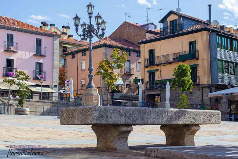 Vista de la Plaza del Ayuntamiento