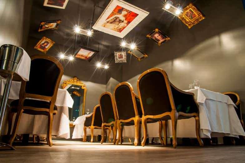 Salón restaurante More en el Barrio Salamanca