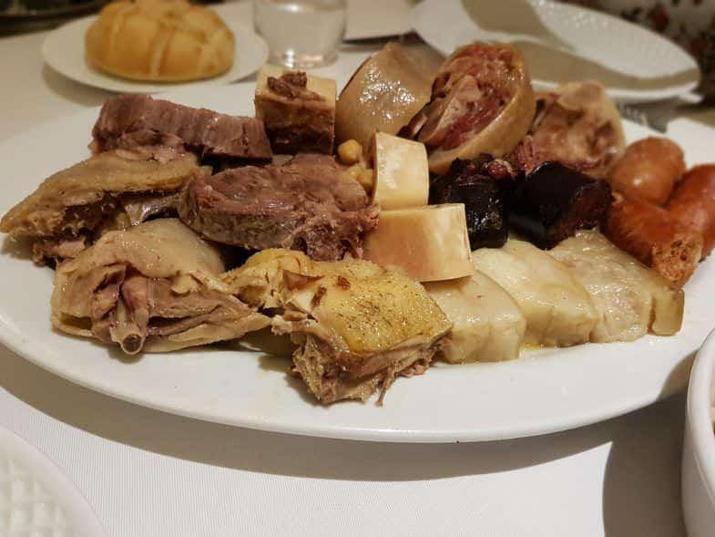 Mejores cocidos de Madrid La Clave