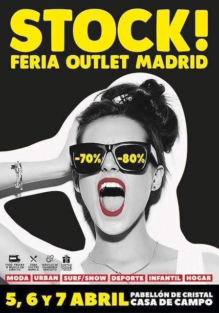 Stock! Feria Outlet Madrid en la Casa de Campo - Un buen día en Madrid