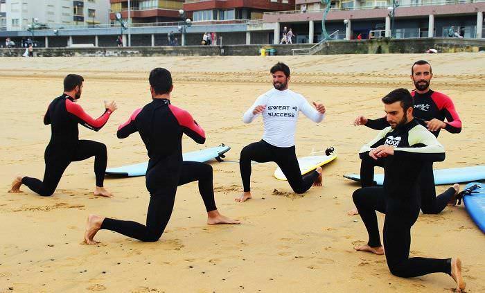 Entrenamiento Surf