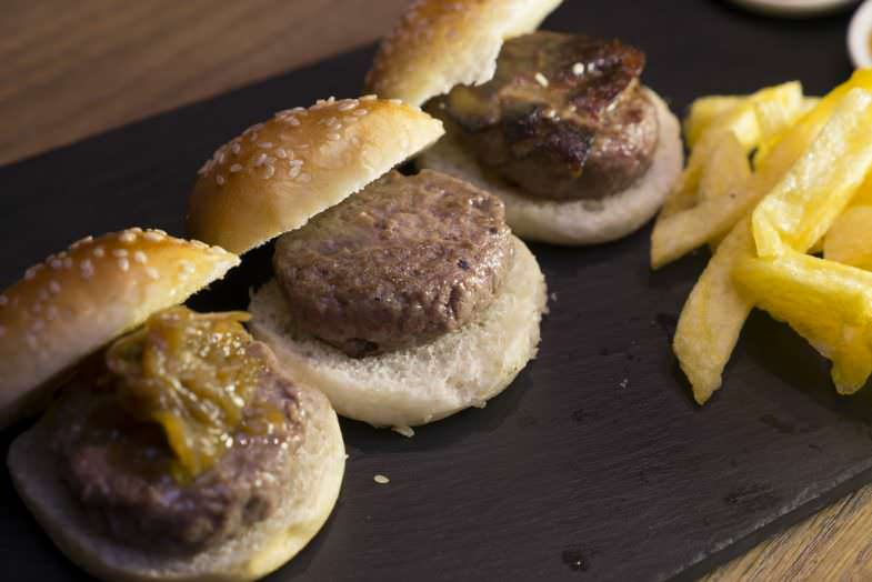 Mini hamburguesitas de Max Madrid