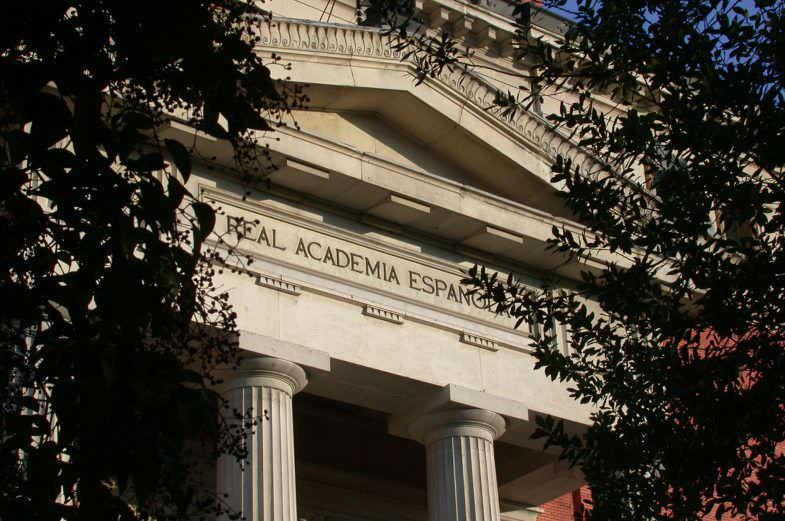 Fachada Real Academia Española