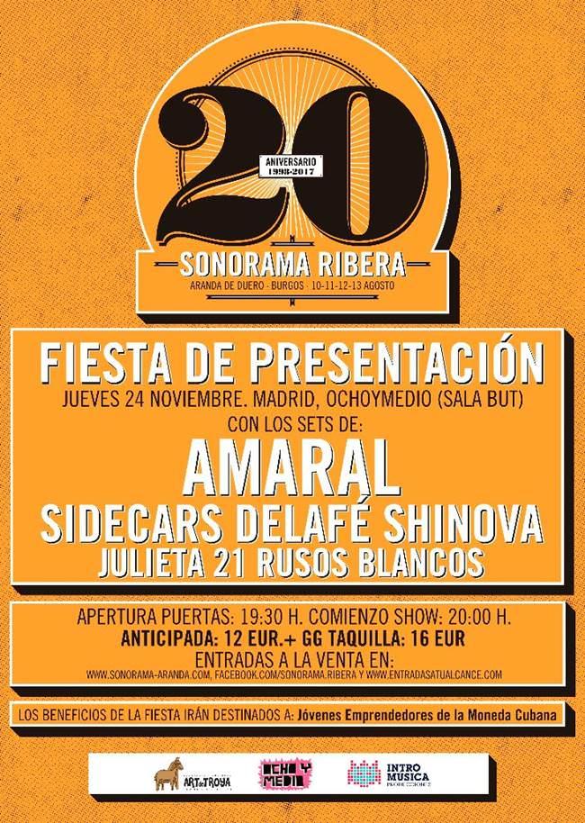 Fiesta presentación Sonorama Ribera