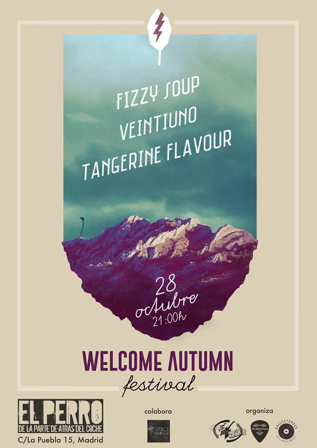 Cartel Welcome Autumn Festival