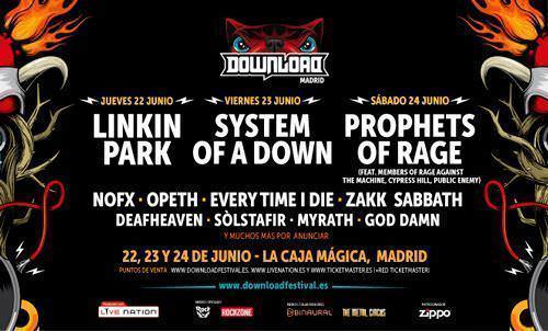 Download Festival cartel