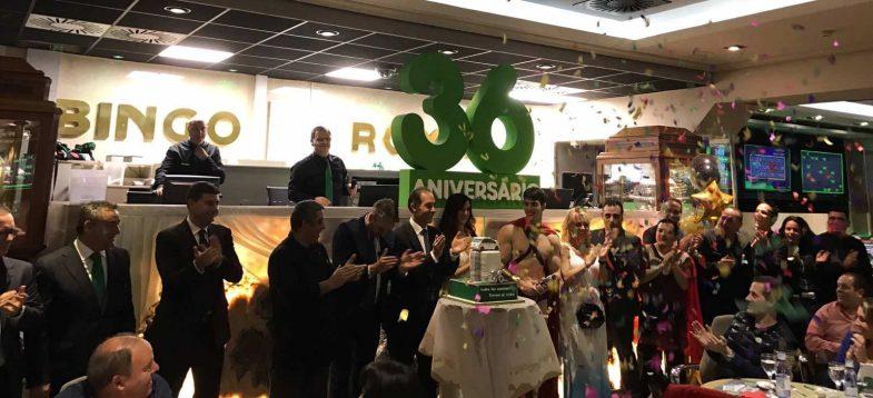 Foto del 36 aniversario de Bingo Roma
