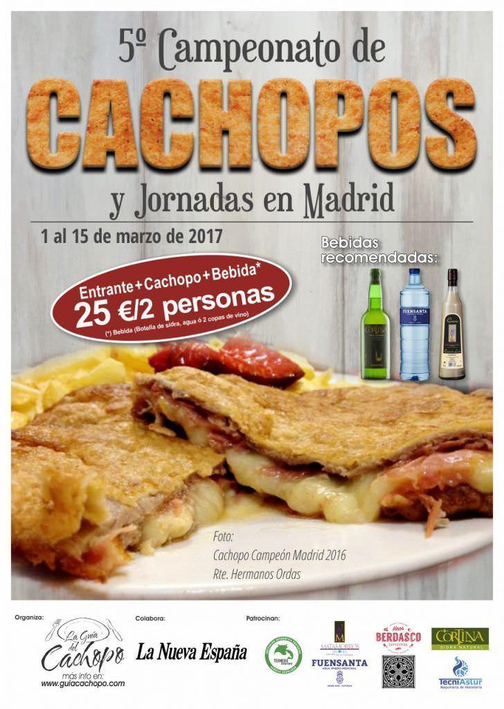 5º Campeonato y Jornadas gastronómicas del cachopo en Madrid - Un buen día en Madrid