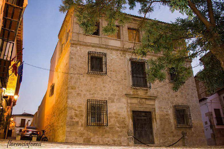 Casa de la Cadena donde durmió el rey Felipe V
