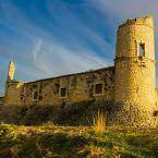 Restos conservados del antiguo Castillo de los Condes en Chinchón