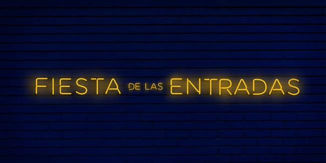 Fiesta de las entradas en Madrid