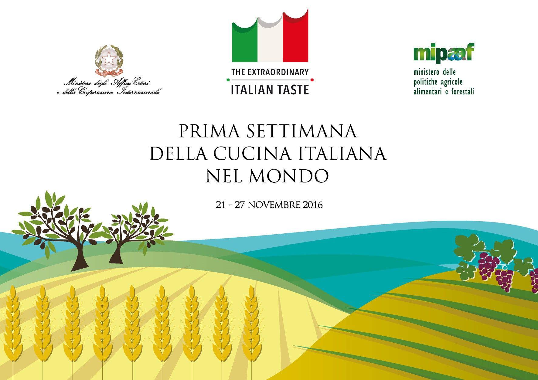 Primera semana de la cocina italiana en el mundo un buen for Cocina 1 dia para toda la semana