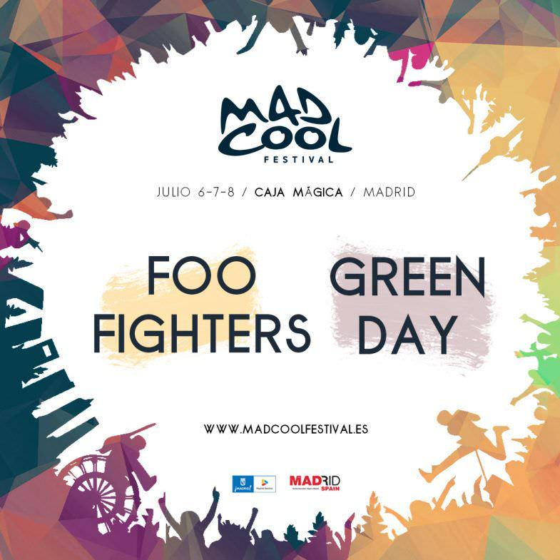 Mad Cool Festival 2017 Confirmaciones
