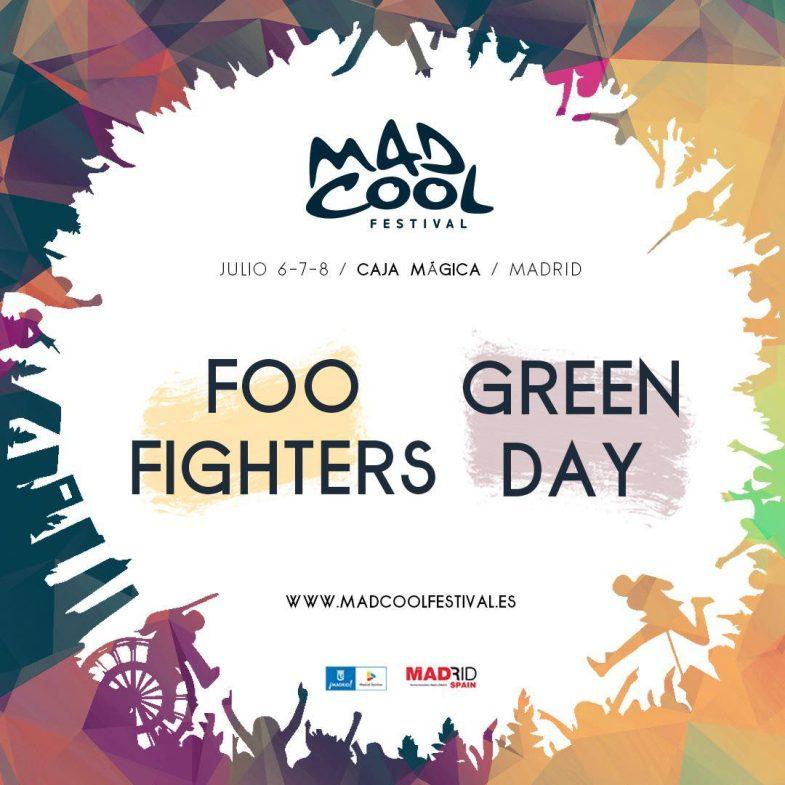 Mad Cool Festival 2017 Confirmaciones