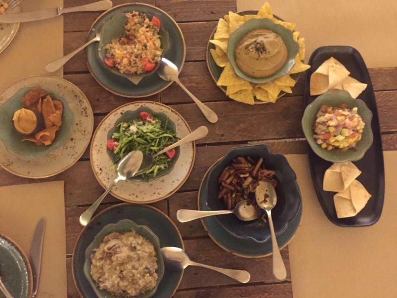Cena en el Huerto de Lucas