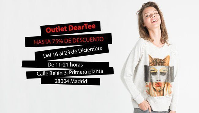 Mercadillo Pop Up de Dear Tee