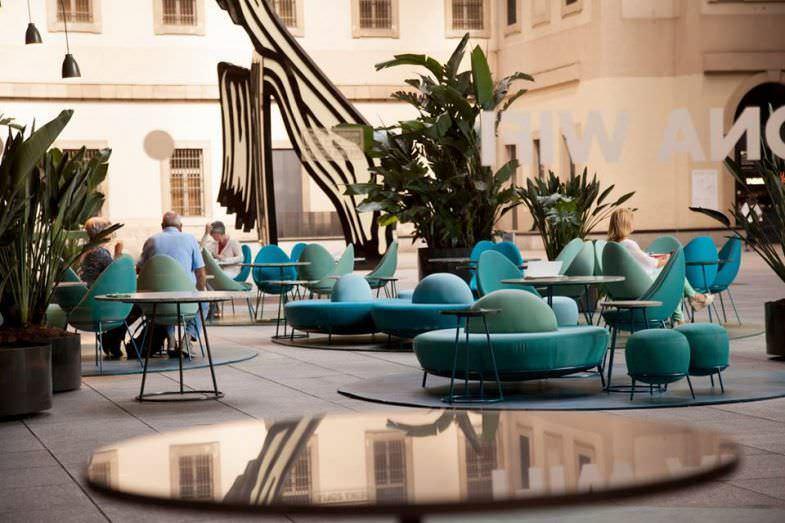 Terraza Restaurante NuBel en Museo Reina Sofía