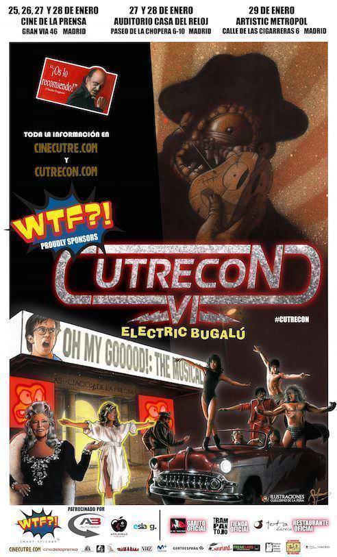Cartel VI edición de Cutrecon