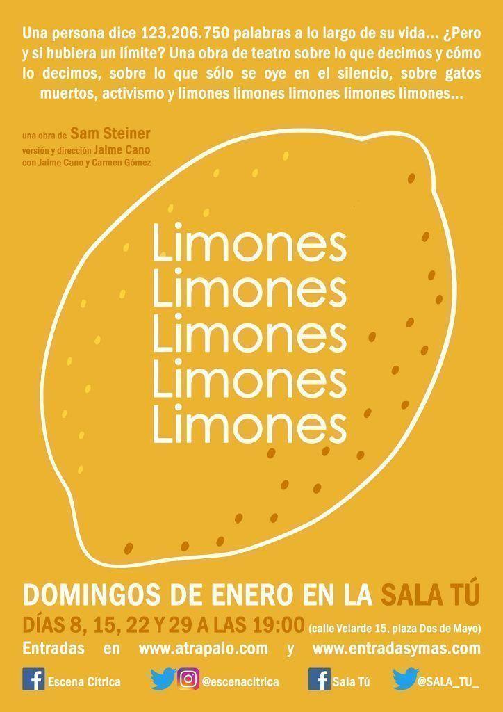 Limones limones limones limones limones - Un buen día en Madrid