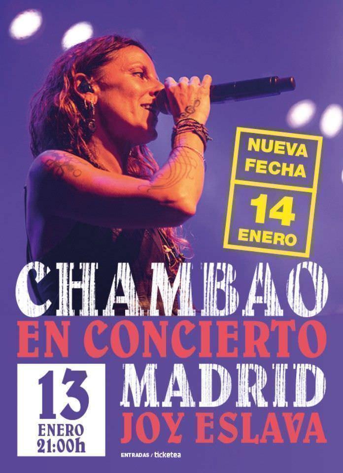 Concierto Chambao - Un buen día en Madrid