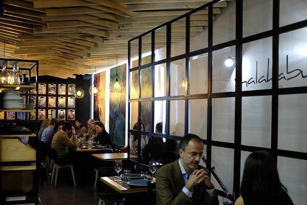 Shalakabula interior del restaurante