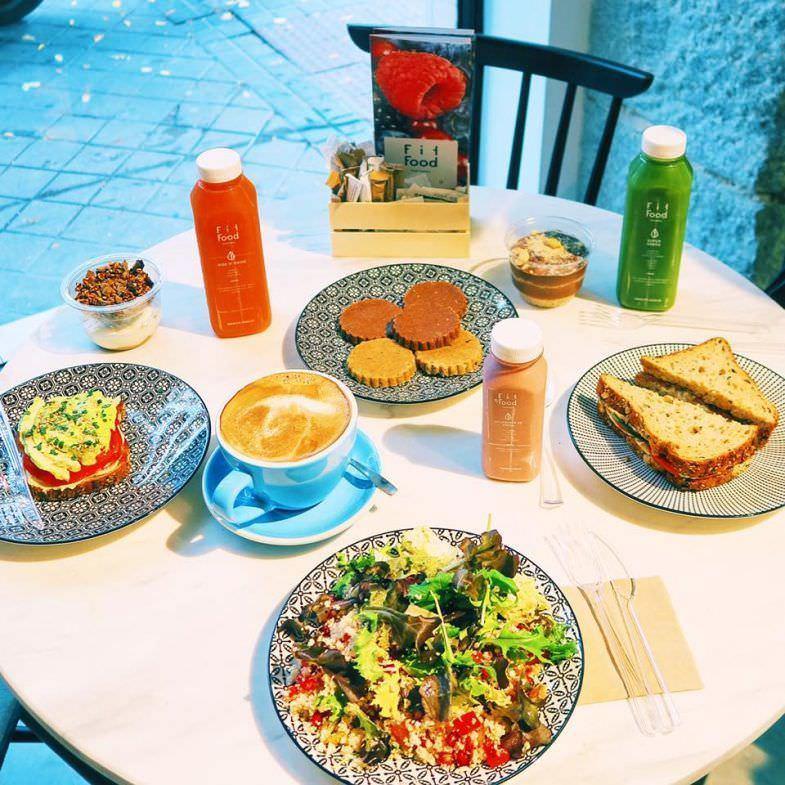 Fit Food - Un buen día en Madrid