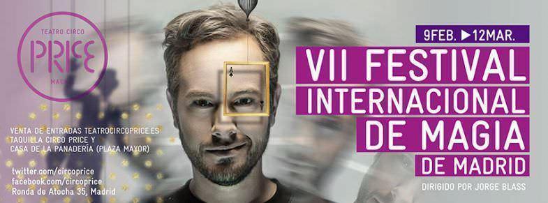 Cartel VII Festival Internacional de Magia