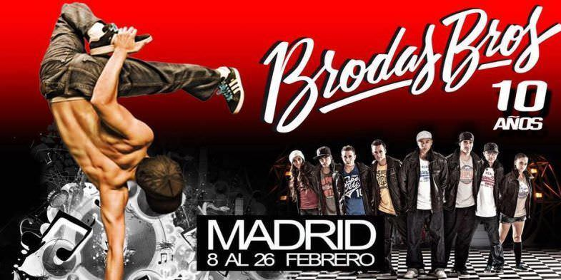 Brodas Bros 10 años - Un buen día en Madrid