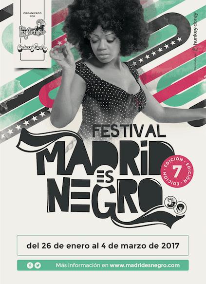Cartel festival Madrid es Negro