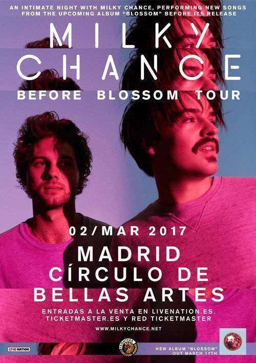Milky Chance en concierto - Un buen día en Madrid