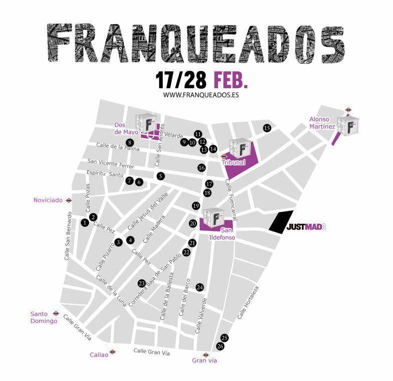 Franqueados Just Mad - Un buen día en Madrid