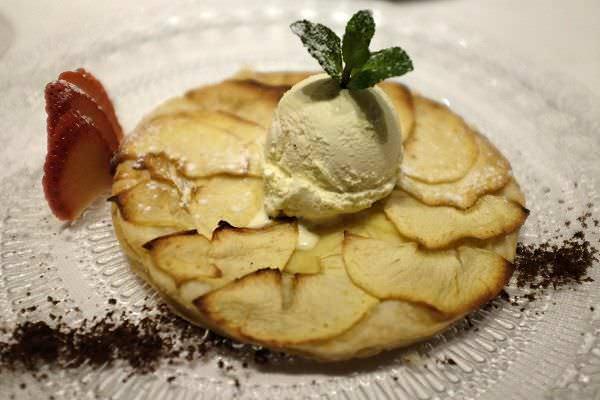 Tarta de manzana El Barril de las Cortes