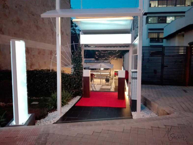 Entrada Restaurante Al Socaire