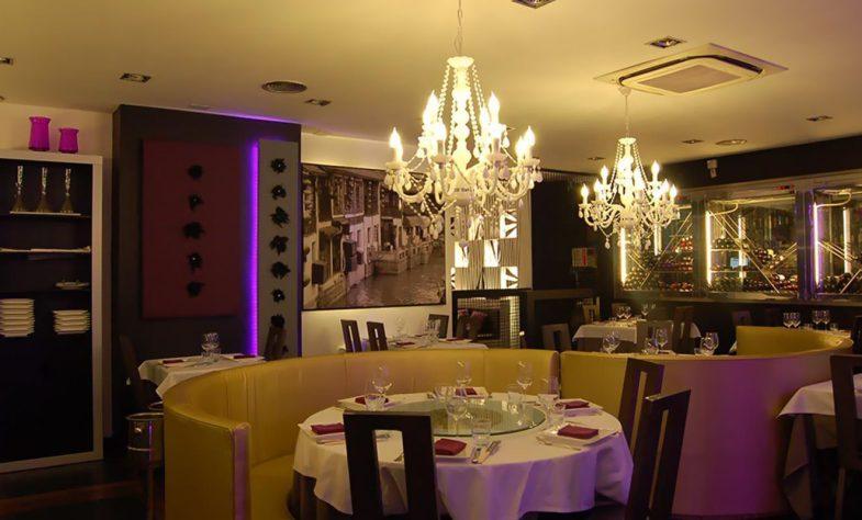 Salón comedor del Restaurante Pato Laqueado de Pekín