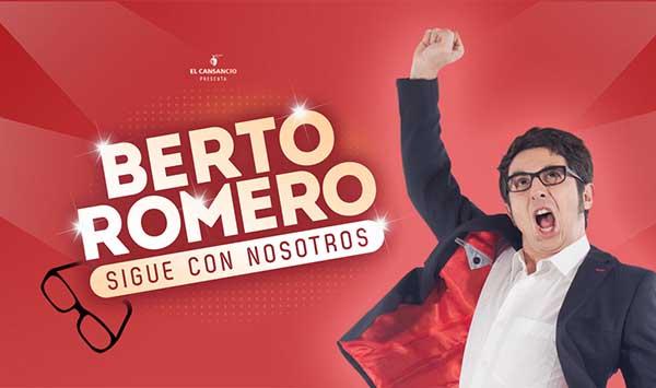 Berto Romero sigue con nosotros - Un buen día en Madrid