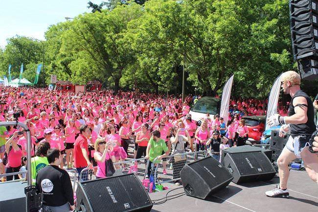 Carrera de la Mujer de Madrid - Un buen día en Madrid