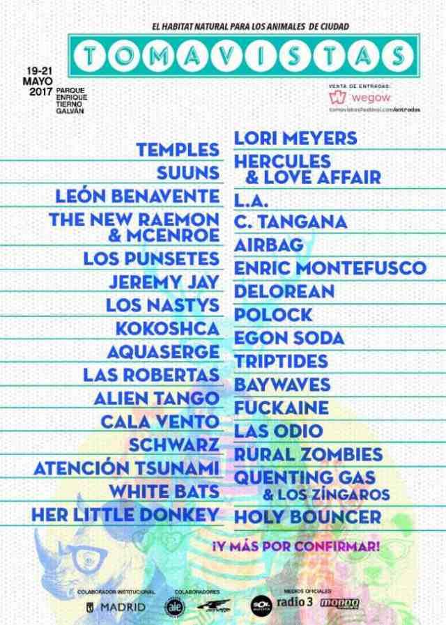 Cartel Festival Tomavistas 2017