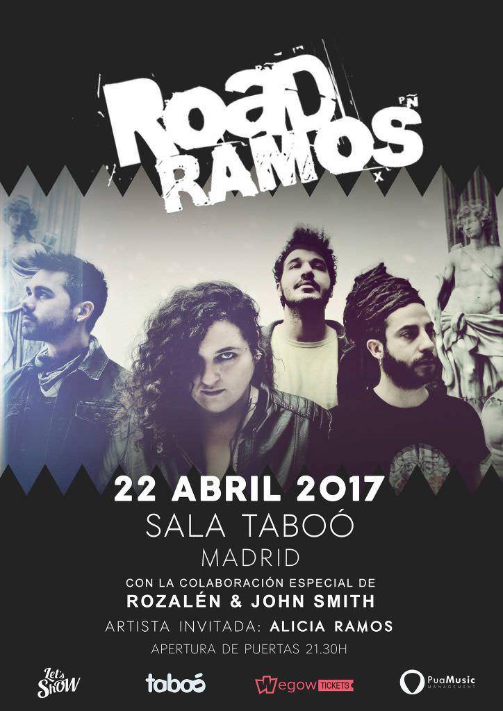 Concierto de Road Ramos - Un buen día en Madrid
