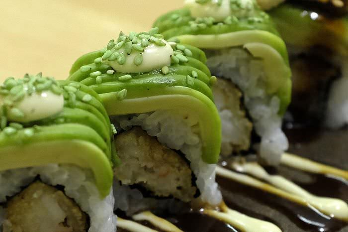 Ebi wasabi roll DokiDoki